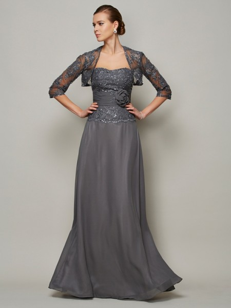 Elegant Net 1/2 Sleeves Special Occasion Wrap