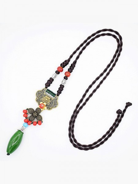 Vintage Alloy Ladies's Necklaces