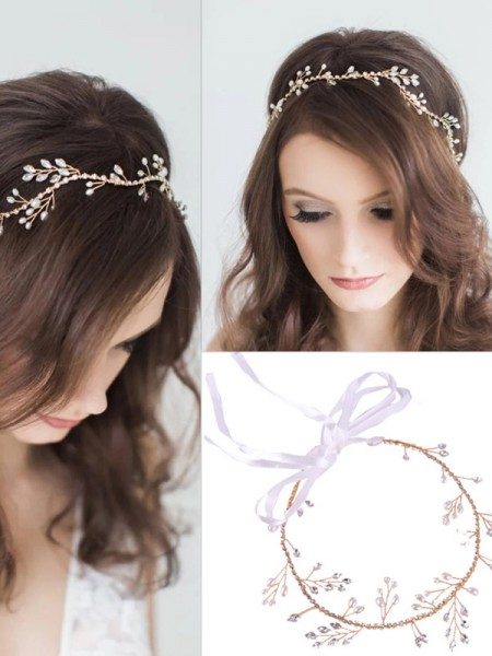Charming Czech Alloy Headpieces