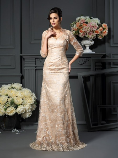 Elegant Net 3/4 Sleeves Special Occasion Wrap